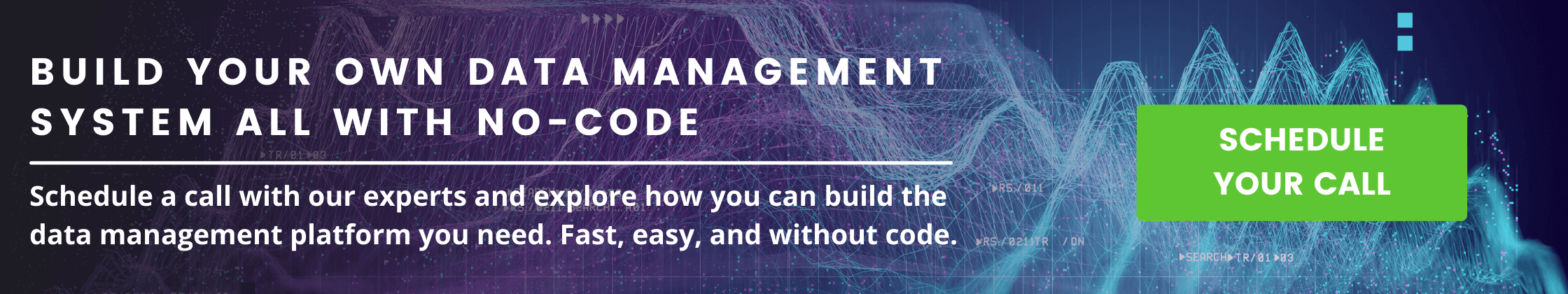 Build your own data management system