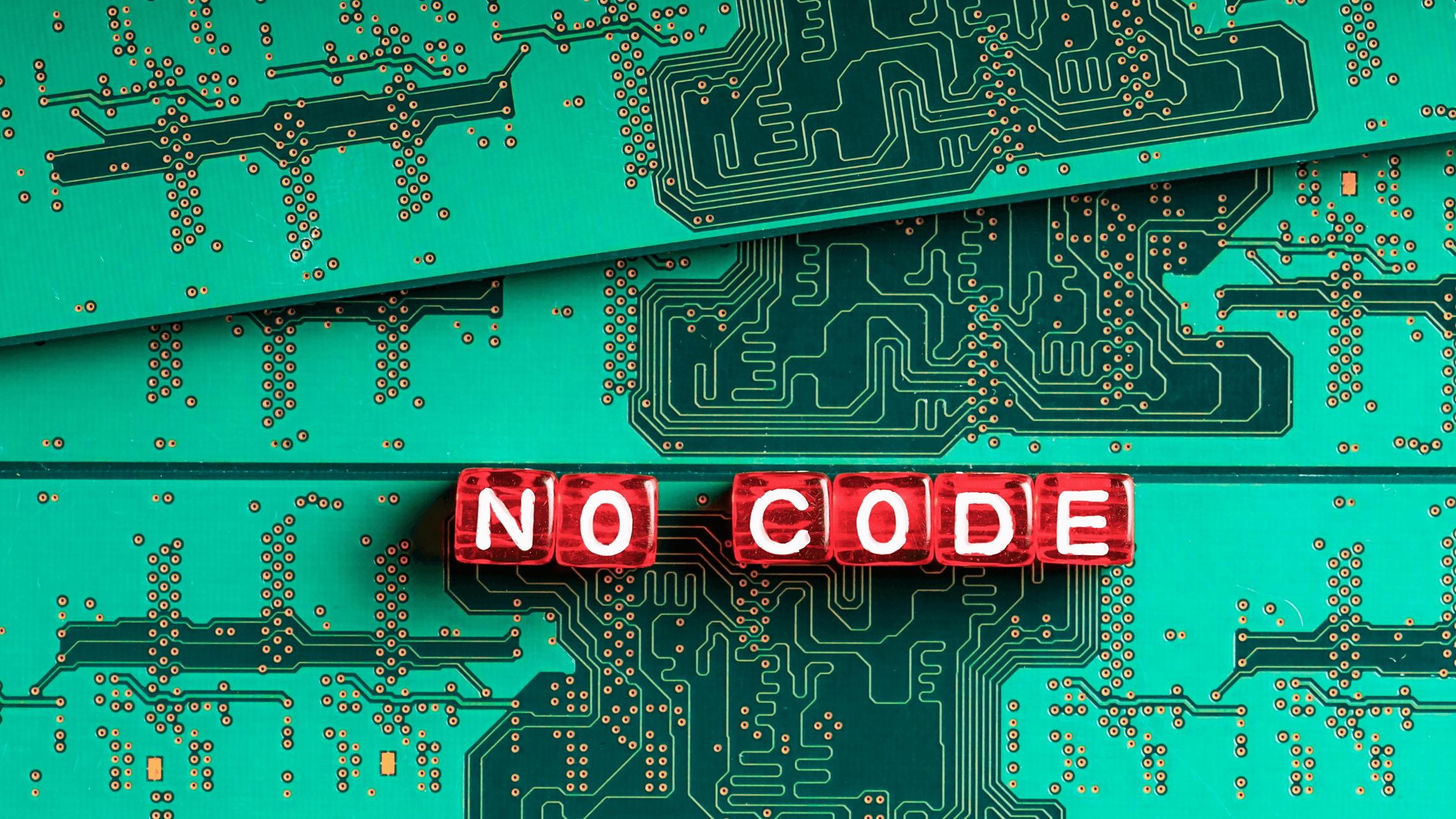 No Code Software Development